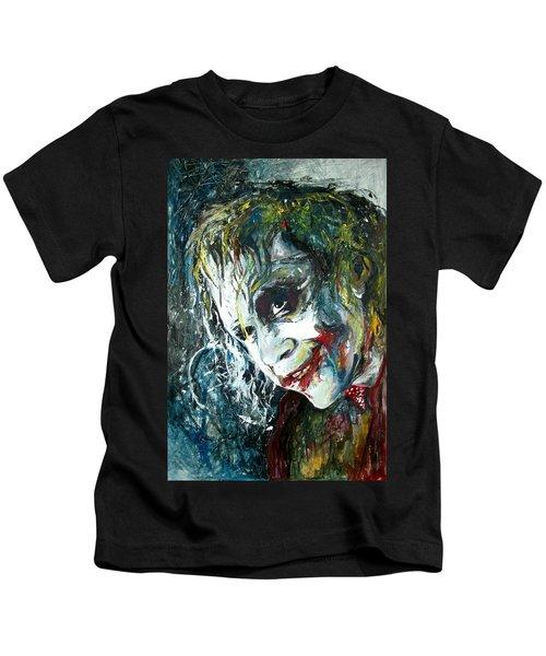 The Joker - Heath Ledger Kids T-Shirt