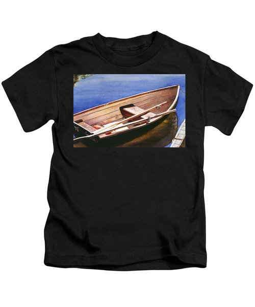 The Lake Boat Kids T-Shirt
