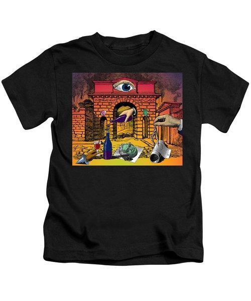 The Last Days Of Herculaneum Kids T-Shirt