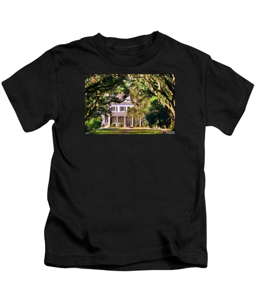 The Legare-waring House At Charles Town Landing Kids T-Shirt