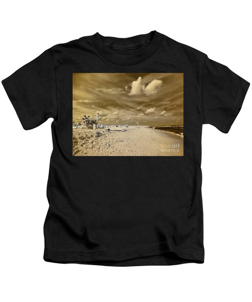 The Lifeguard Stand Kids T-Shirt