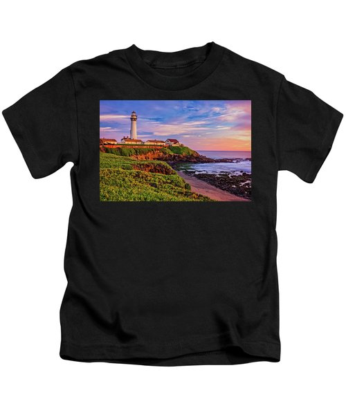 The Light Of Sunset Kids T-Shirt