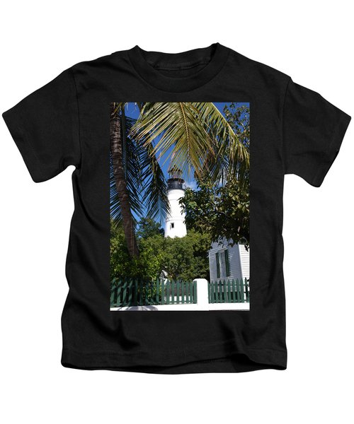 The Lighthouse In Key West II Kids T-Shirt