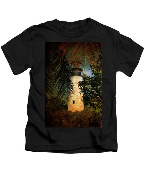 The Lighthouse In Key West Kids T-Shirt