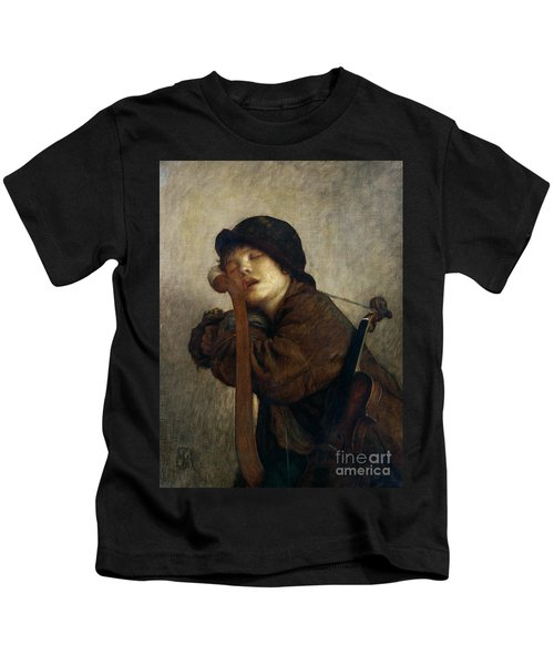 The Little Violinist Sleeping Kids T-Shirt