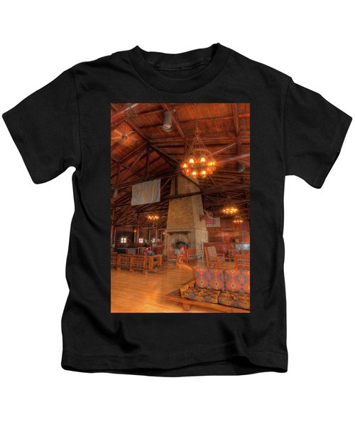 The Lodge At Starved Rock State Park Illinois Kids T-Shirt
