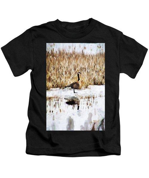 The Lone Traveler Kids T-Shirt