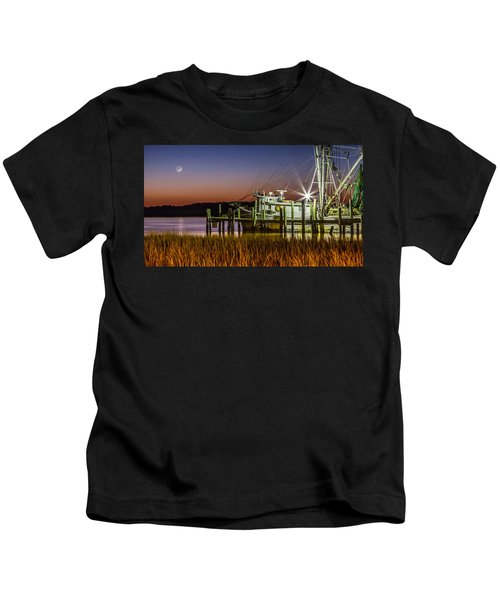 The Low Country Way - Folly Beach Sc Kids T-Shirt