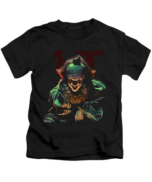 the Mighty Clown Kids T-Shirt