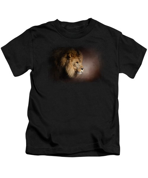 The Mighty Lion Kids T-Shirt by Jai Johnson