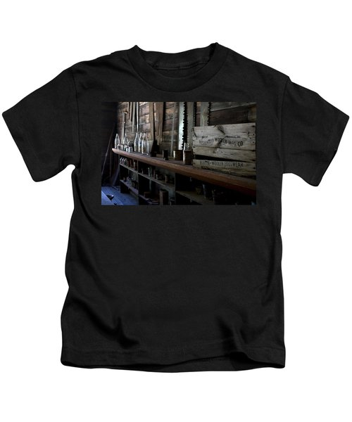 The Mishawaka Woolen Bar Kids T-Shirt