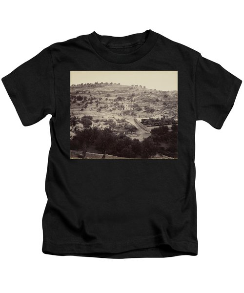 The Mount Of Olives And Garden Of Gethsemane Kids T-Shirt