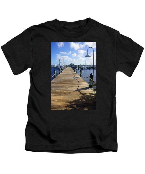 The Naples City Dock Kids T-Shirt