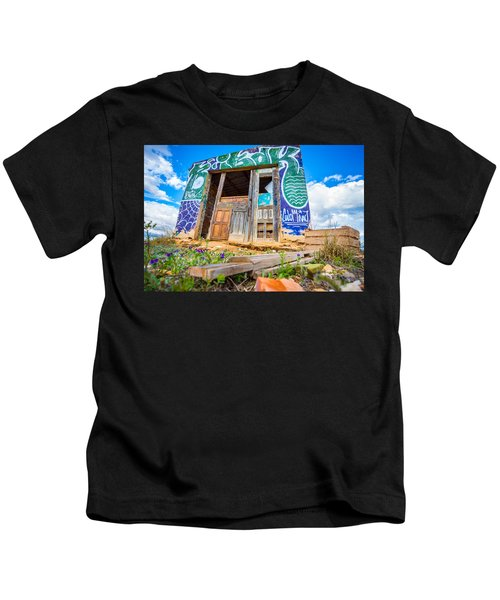 The Old Abode. Kids T-Shirt