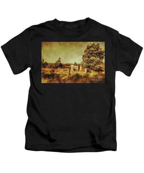 The Old Hay Barn Kids T-Shirt
