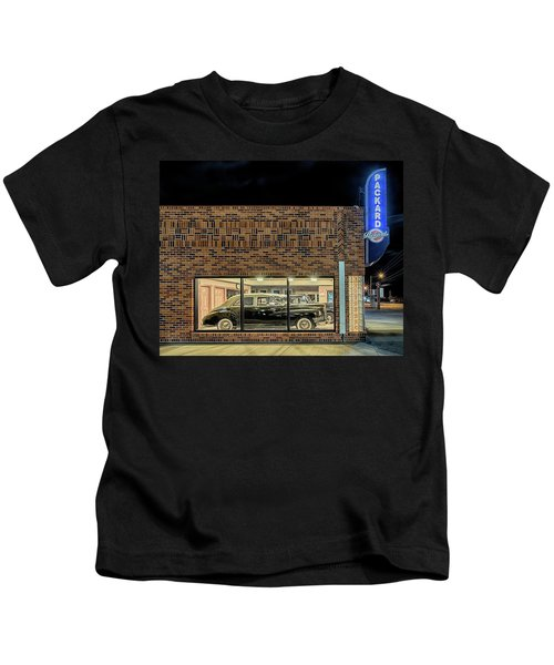 The Old Packard Dealership Kids T-Shirt