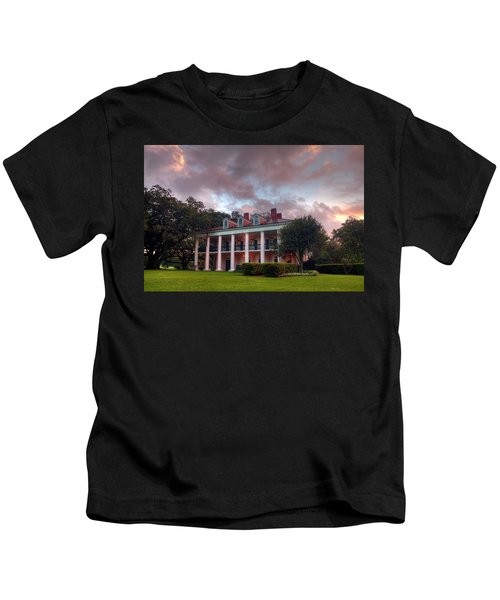 The Other Side Of Oak Alley Kids T-Shirt
