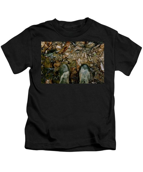 The Path Into The Amazon Kids T-Shirt