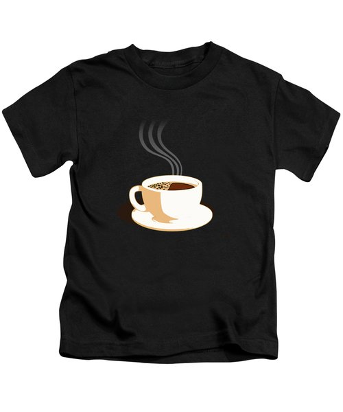 The Perfect Cup Of Coffee Kids T-Shirt