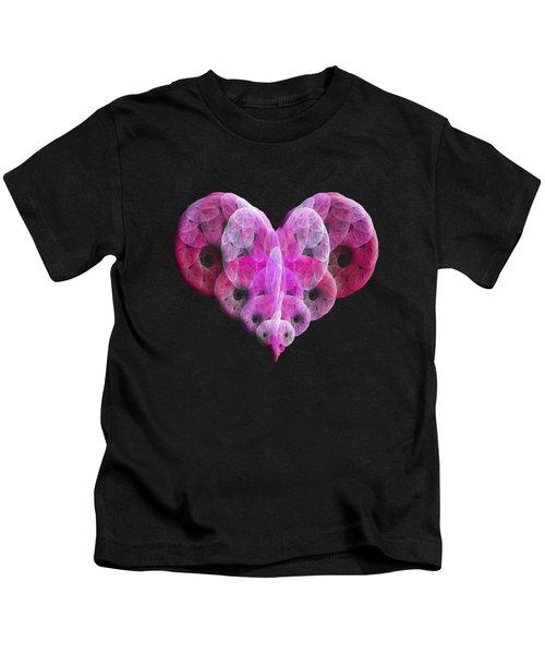 The Pink Heart Kids T-Shirt