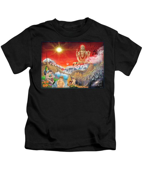 The Power Of Different Gods Kids T-Shirt