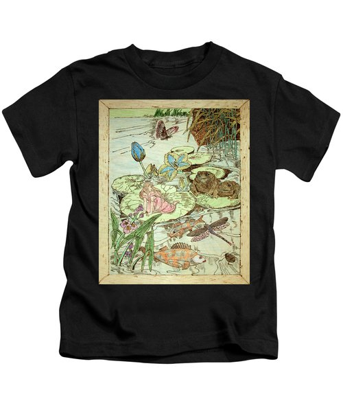 The Princess And The Frogs Kids T-Shirt