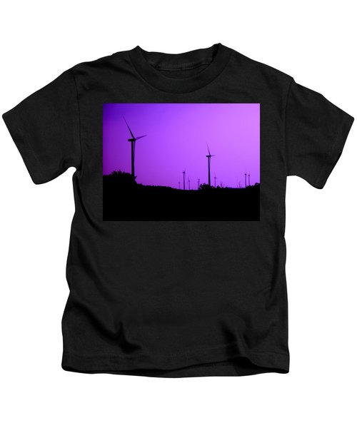 The Purple Expanse Kids T-Shirt