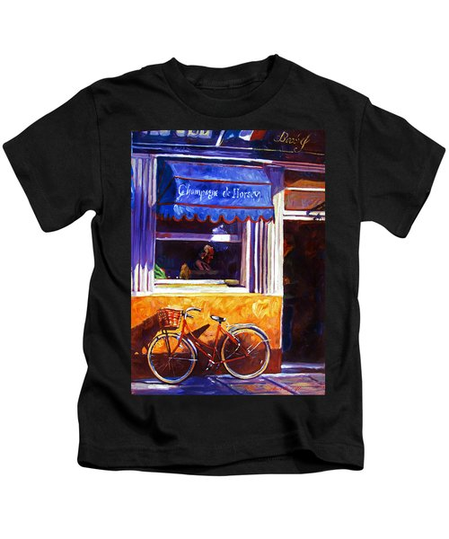 The Red Bicycle Kids T-Shirt
