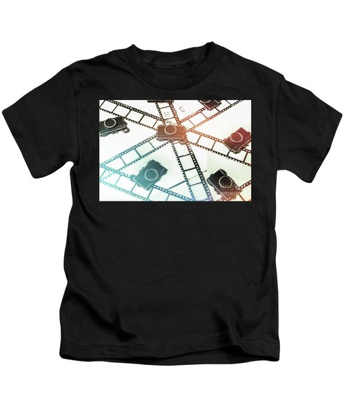 The Retro Camera Reel Kids T-Shirt