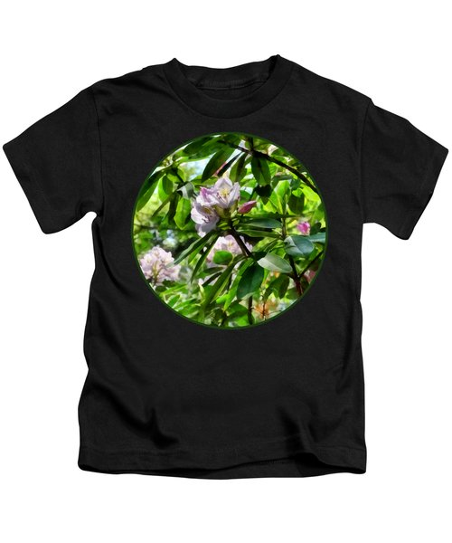 The Rhododendrons Are In Bloom Kids T-Shirt