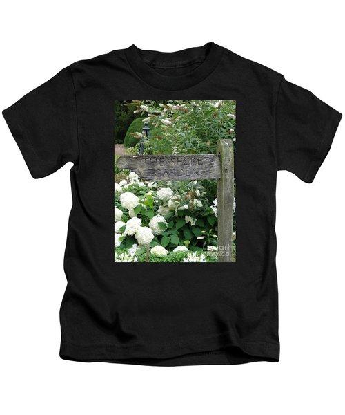 The Secret Garden Sign Kids T-Shirt