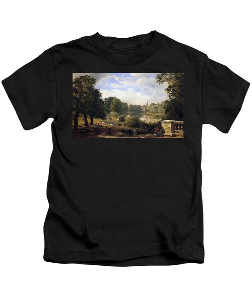 The Serpentine Kids T-Shirt by Jasper Francis Cropsey