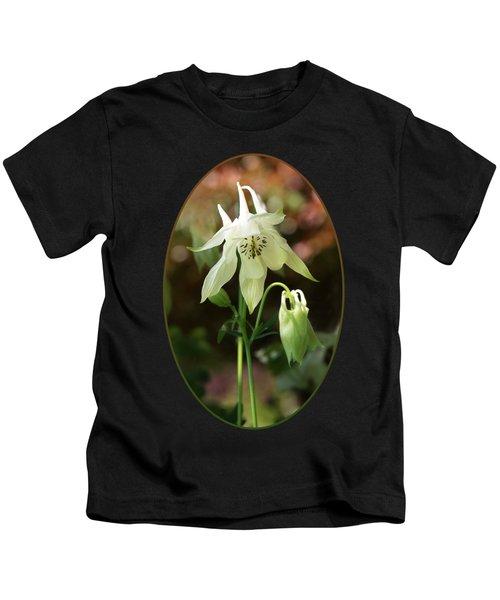 The Shy Aquilegia Kids T-Shirt