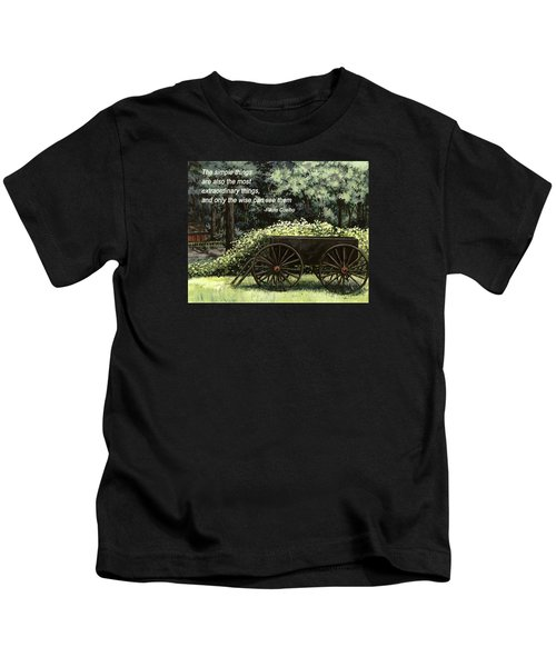 The Simple Things Kids T-Shirt