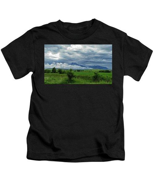 The Sky Has Fallen Kids T-Shirt