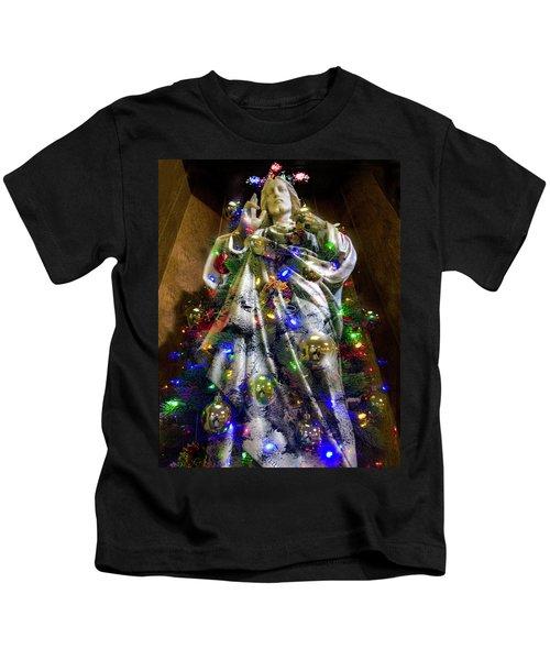 The Spirit Of Christmas Kids T-Shirt