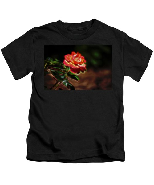 The Spirit Of The Rose Kids T-Shirt