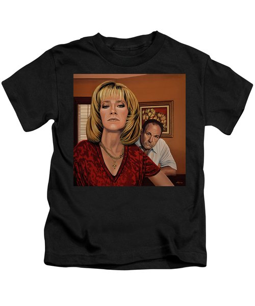 The Sopranos Painting Kids T-Shirt