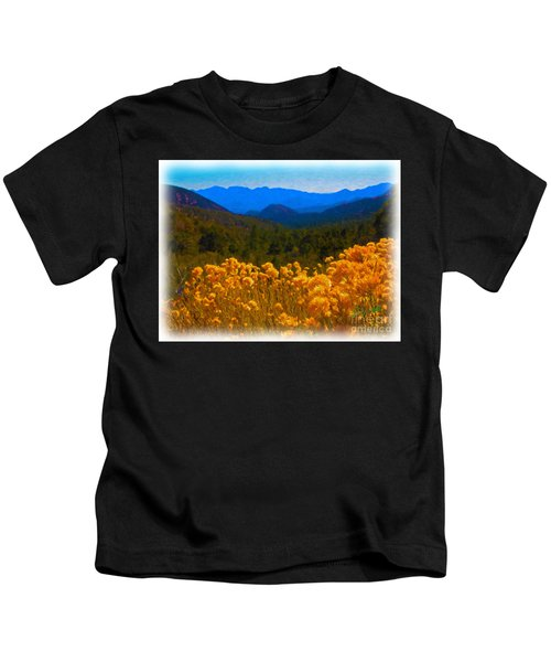 The Spring Mountains Kids T-Shirt