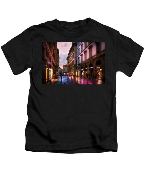 The Streets Of Florence Kids T-Shirt