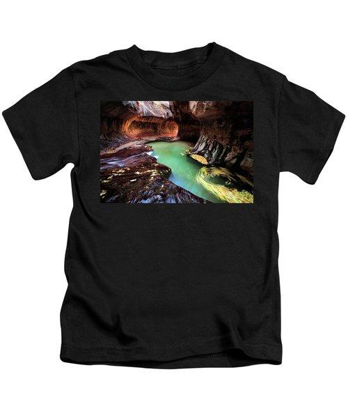 The Subway Swirls Kids T-Shirt