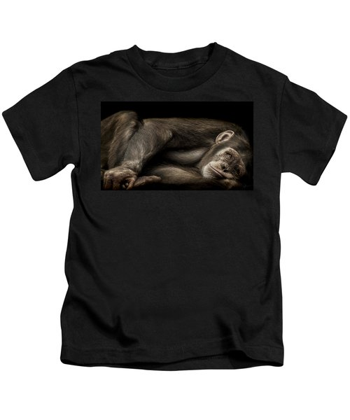 The Teenager Kids T-Shirt by Paul Neville