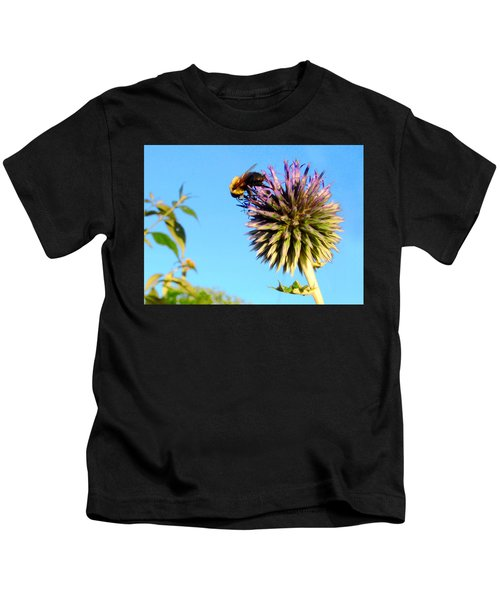 The Thistle And The Bee. Kids T-Shirt