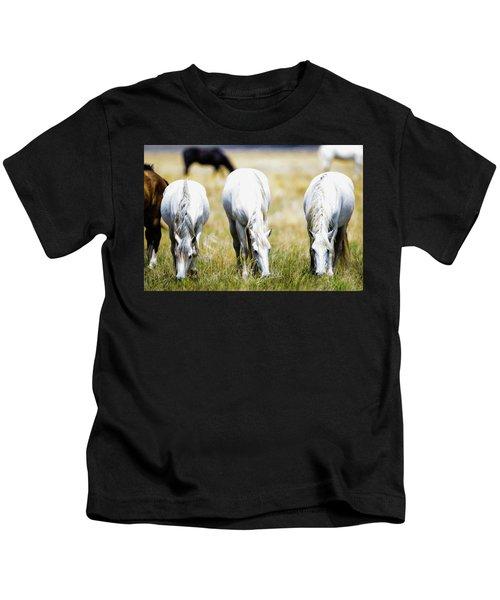 The Three Amigos Grazing Kids T-Shirt