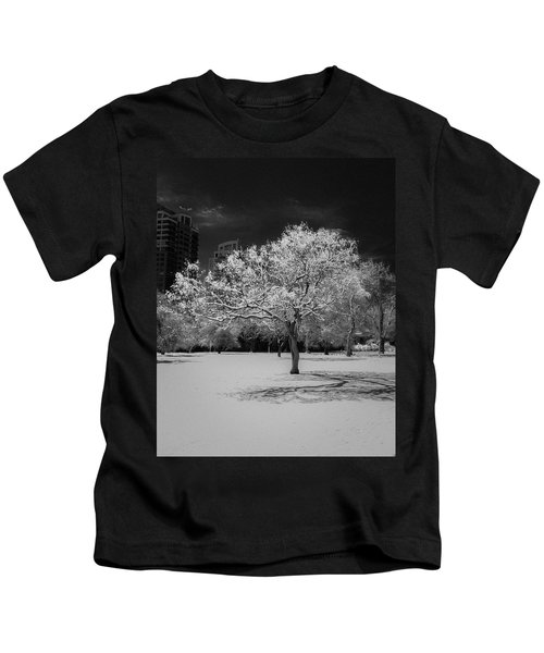 The Tree Stands Alone Kids T-Shirt