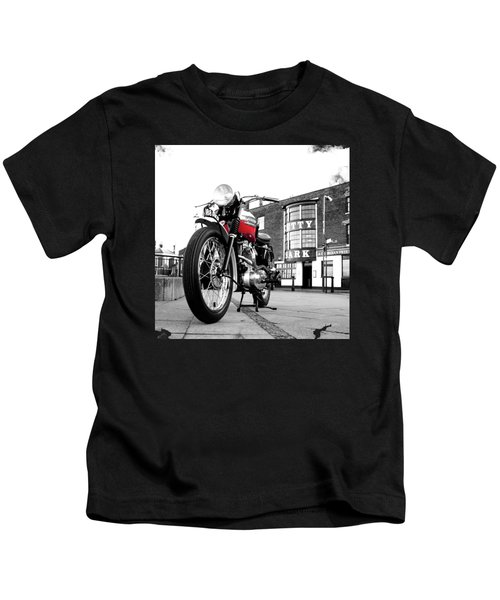 The Trophy Tr5 Motorcycle Kids T-Shirt