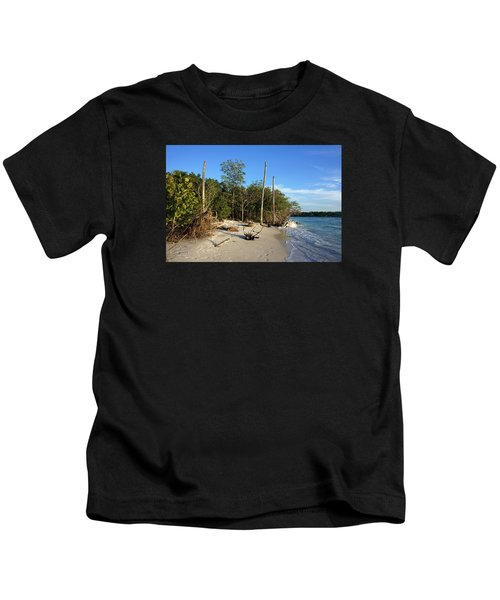 The Unspoiled Beauty Of Barefoot Beach In Naples - Landscape Kids T-Shirt