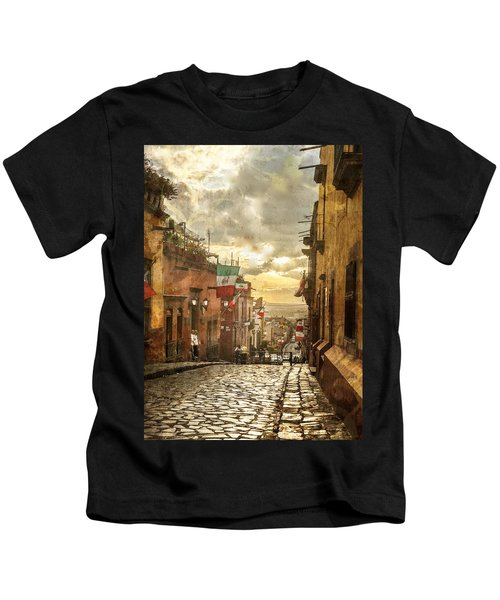 The View Looking Down Kids T-Shirt