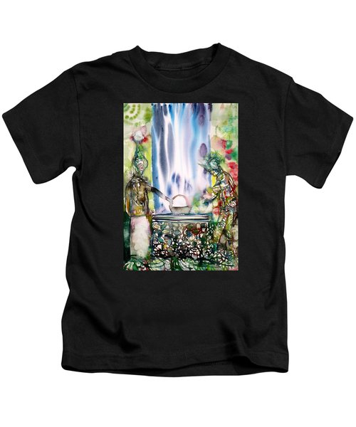 The Well And Its Inhabitants Kids T-Shirt