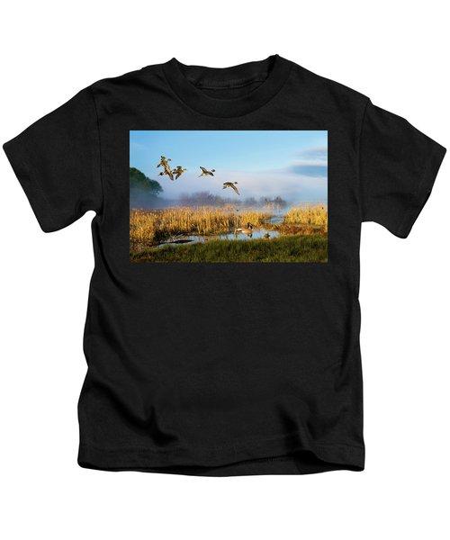 The Wetlands Crop Kids T-Shirt